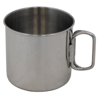 MFH Foldable Handles Cup Stainless Steel 450ml
