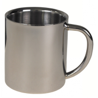 MFH Double Walled Cup Stainless Steel 250ml