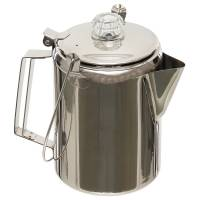 MFH Coffee Pot w/ Percolator Stainless Steel