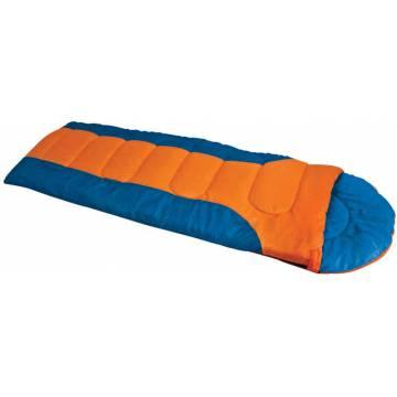 Campus Laguna Sleeping Bag 220x75cm - Orange / Blue
