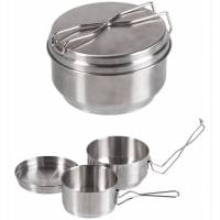 Mil-Tec Czech Mess Kit Stainless Steel