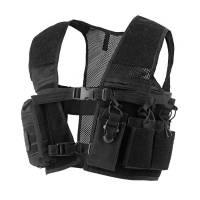 Mil-Tec Security Combat Vest - Black