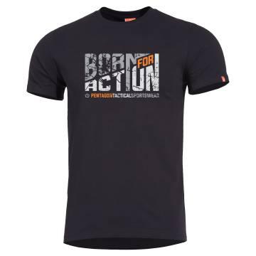 Pentagon Ageron T-Shirt (Born for Action) Black