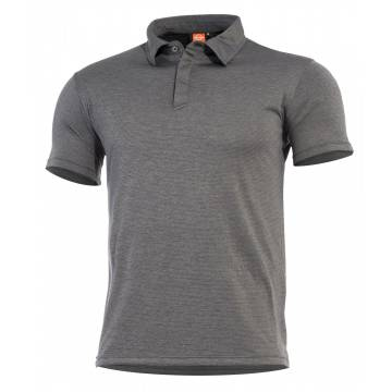 Pentagon Notus Quick Dry Polo T-Shirt - Charcoal Grey
