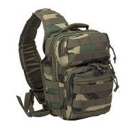 Mil-Tec One Strap Assault Pack - Woodland
