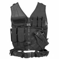 Condor Crossdraw Vest (Black)