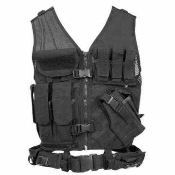 Condor Crossdraw Vest (Black)