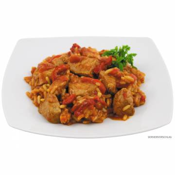 Canned Serbian Pork with Rice 400gr