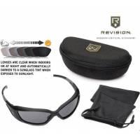 Revision Hellfly Ballistic Eyewear (Black-Photochromic)