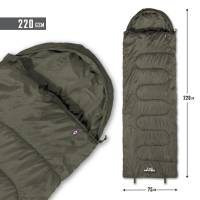 Pentagon Sentinel Sleeping Bag 220gr - Ranger Green