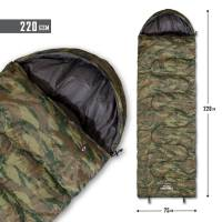 Pentagon Sentinel Sleeping Bag 220gr - Greek Lizard