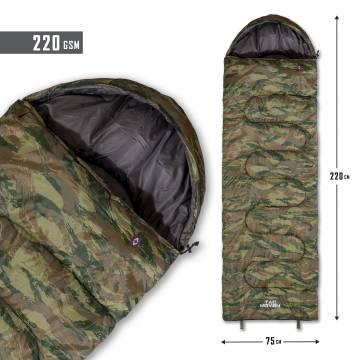 Tac Maven Sentinel Sleeping Bag 220gr - Greek Lizard