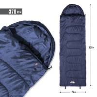 Tac Maven Major Sleeping Bag 370gr - Midnight Blue