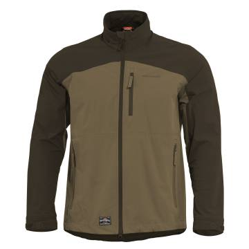 Pentagon Elite Light Softshell Jacket - Black / Coyote