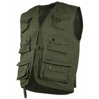 Mil-Tec Hunting and Fishing Vest - Olive