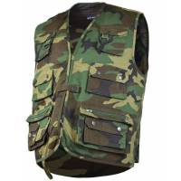 Mil-Tec Hunting and Fishing Vest - Woodland