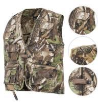 Mil-Tec Hunting and Fishing Vest - Hunting Camo