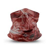 Pentagon Skiron (Liquid) Neck Gaiter - Maroon Red