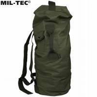 Mil-Tec US Pol Double Strap 75L Duffle Bag - Olive