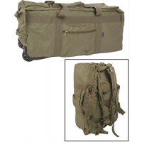 Mil-Tec Combat Duffle Bag 118L w/ Wheel - Olive