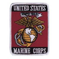 Mil-Tec US MC Textile Badge