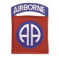 Mil-Tec US 82ND.AB Textile Badge