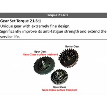 Modify Gear Set V.2/3/6 gearbox (Torque 21.6:1)