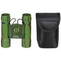 MFH Foldable Binocular Ruby Lense 10x25 - Woodland