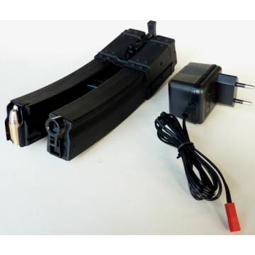 Double Electric Magazine for MP5 650rds