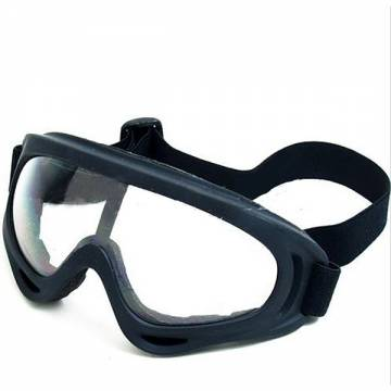X400 Tactical Airsoft Goggle (Black-Clear)