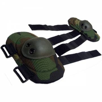 King Arms Elbow Pads - Woodland