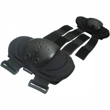 King Arms Elbow Pads (Black)