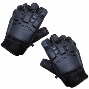 King Arms PVC Sport Gloves - Half Finger