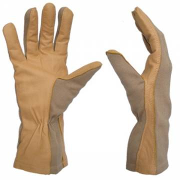King Arms GI Nomex Gloves (Tan-Tan)