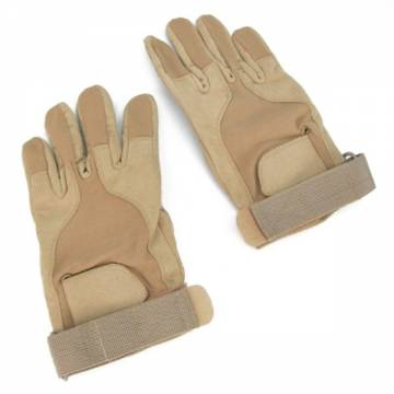 King Arms SOS Gloves - Full Finger (TAN)