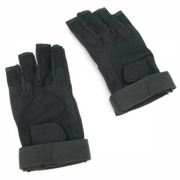King Arms SOS Gloves - Half Finger (BK)