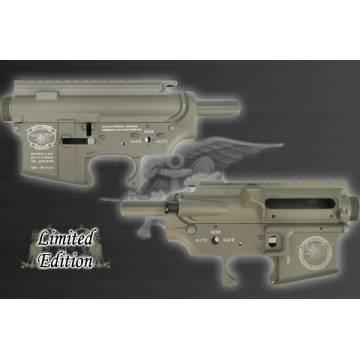 King Arms M16 Metal Body - Navy Seals - DE