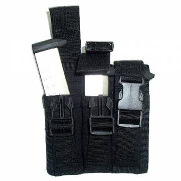 King Arms Triple Magazine Pouch - BK