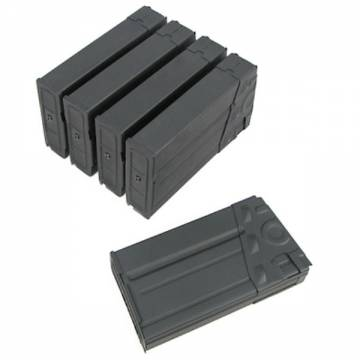 King Arms G3 130rds Magazines Box Set (5pcs Metal)