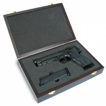 King Arms Wooden Pistol Case - Beretta Style
