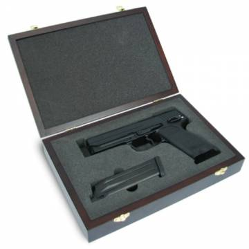 King Arms Wooden Pistol Case - H&K Style