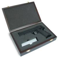 King Arms Wooden Pistol Case - SIG SAUER Style / B