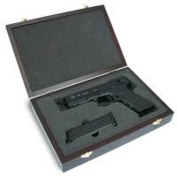 King Arms Wooden Pistol Case - Glock Style