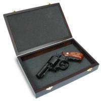 King Arms Wooden Pistol Case - S&W Style