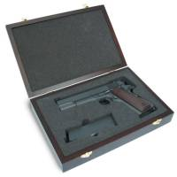 King Arms Wooden Pistol Case - Colt Style