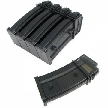 King Arms G36 50 Rds Mag Box Set (5pcs)