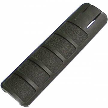 King Arms Rail Cover - 135mm / Black