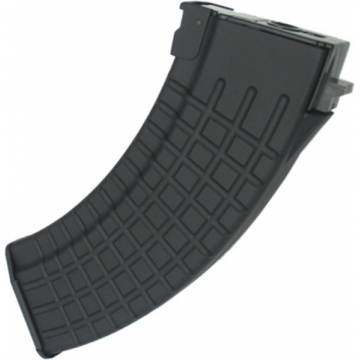 King Arms 600rds Waffle Pattern Mag for AK series - BK