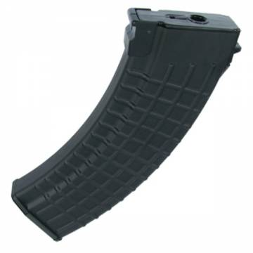 King Arms 140rds Waffle Pattern Mag for AK series - BK