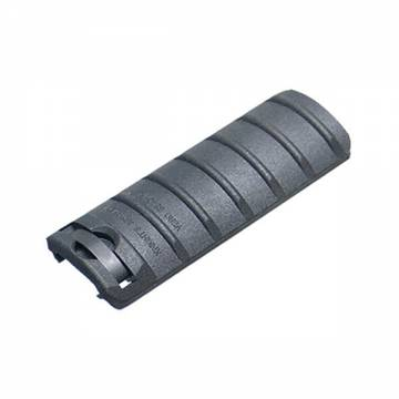 King Arms Rail Cover - 6 Ribs/Black